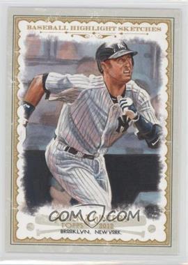 2012 Topps Allen & Ginter's Baseball Highlight Sketches #BH-8 - Derek Jeter