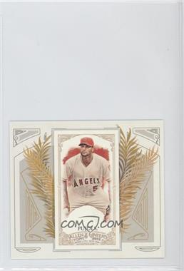 2012 Topps Allen & Ginter's Box Loader N43 #N43-1 - Albert Pujols