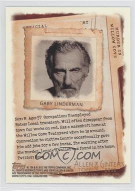 2012 Topps Allen & Ginter's Code Cards #171 - Gary Linderman