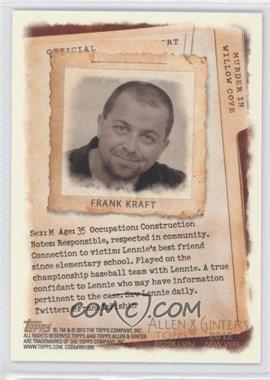 2012 Topps Allen & Ginter's Code Cards #N/A - Frank Kremblas