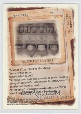 2012 Topps Allen & Ginter's Code Cards #N/A - Guttman's Gutters