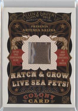 2012 Topps Allen & Ginter's Colony in a Card #NoN - Artemia Salina