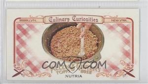 2012 Topps Allen & Ginter's Culinary Curiosities Minis #CC1 - Nutria