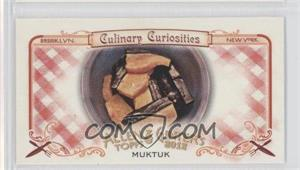 2012 Topps Allen & Ginter's Culinary Curiosities Minis #CC10 - Muktuk