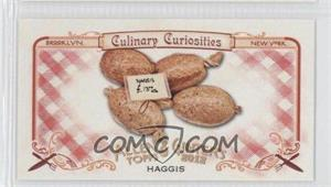 2012 Topps Allen & Ginter's Culinary Curiosities Minis #CC2 - [Missing]