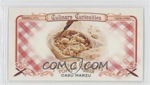 2012 Topps Allen & Ginter's Culinary Curiosities Minis #CC4 - Casu Marzu