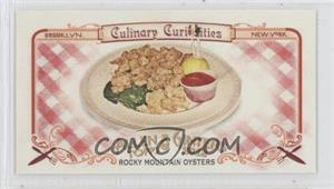 2012 Topps Allen & Ginter's Culinary Curiosities Minis #CC5 - Rocky Mountain Oysters