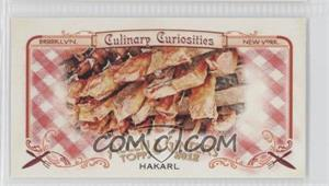 2012 Topps Allen & Ginter's Culinary Curiosities Minis #CC6 - [Missing]