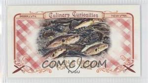 2012 Topps Allen & Ginter's Culinary Curiosities Minis #CC7 - Fugu