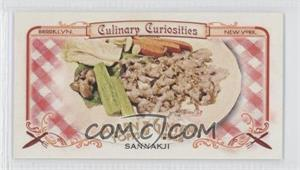 2012 Topps Allen & Ginter's Culinary Curiosities Minis #CC8 - [Missing]
