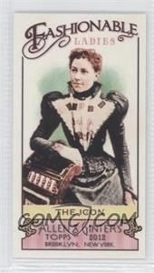 2012 Topps Allen & Ginter's Fashionable Ladies Minis #FL-10 - [Missing]