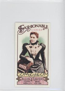2012 Topps Allen & Ginter's Fashionable Ladies Minis #FL-10 - The Icon