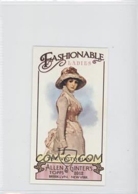 2012 Topps Allen & Ginter's Fashionable Ladies Minis #FL-4 - The Victorian