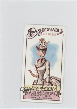 2012 Topps Allen & Ginter's Fashionable Ladies Minis #FL-5 - The Bustle