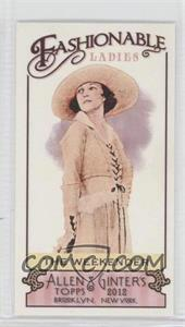 2012 Topps Allen & Ginter's Fashionable Ladies Minis #FL-6 - [Missing]