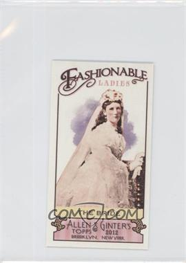 2012 Topps Allen & Ginter's Fashionable Ladies Minis #FL-7 - The Bride