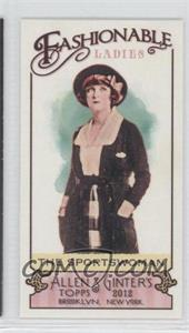 2012 Topps Allen & Ginter's Fashionable Ladies Minis #FL-8 - [Missing]