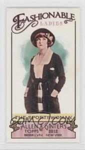 2012 Topps Allen & Ginter's Fashionable Ladies Minis #FL-8 - The Sportswoman