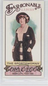 2012 Topps Allen & Ginter's Fashionable Ladies Minis #FL-8 - The Sportswoman