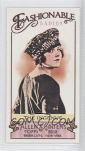 2012 Topps Allen & Ginter's Fashionable Ladies Minis #FL-9 - [Missing]
