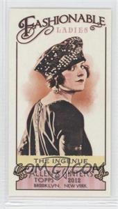 2012 Topps Allen & Ginter's Fashionable Ladies Minis #FL-9 - The Ingenue