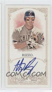 2012 Topps Allen & Ginter's Framed Mini Autographs #AGA-AR - Anthony Rizzo