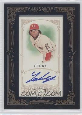 2012 Topps Allen & Ginter's Framed Mini Autographs #AGA-JC - Johnny Cueto