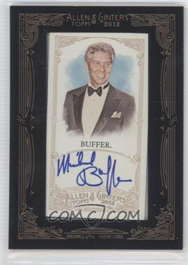 2012 Topps Allen & Ginter's Framed Mini Autographs #AGA-MBF - [Missing]
