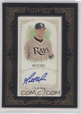 2012 Topps Allen & Ginter's Framed Mini Autographs #AGA-MM - Matt Moore