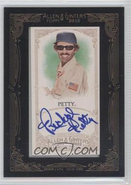 2012 Topps Allen & Ginter's Framed Mini Autographs #AGA-RPT - Richard Petty