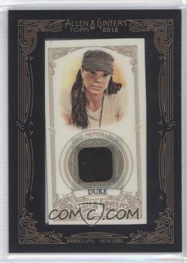 2012 Topps Allen & Ginter's Framed Mini Relics #AGR-AD - Annie Duke