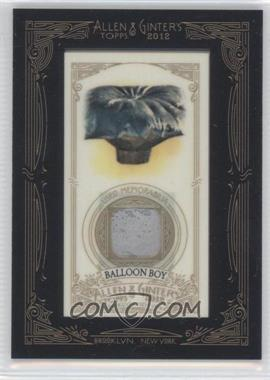 2012 Topps Allen & Ginter's Framed Mini Relics #AGR-BB - Balloon Boy