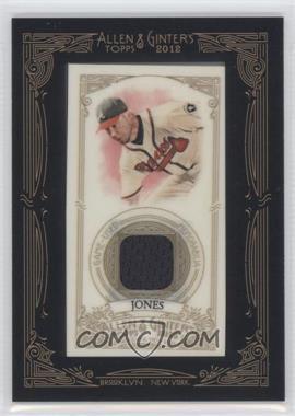 2012 Topps Allen & Ginter's Framed Mini Relics #AGR-CJ - Chipper Jones
