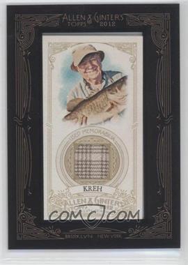 2012 Topps Allen & Ginter's Framed Mini Relics #AGR-LK - Lefty Kreh