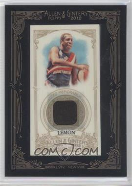 2012 Topps Allen & Ginter's Framed Mini Relics #AGR-MLE - Meadowlark Lemon
