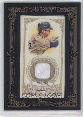 2012 Topps Allen & Ginter's Framed Mini Relics #AGR-MY - Michael Young