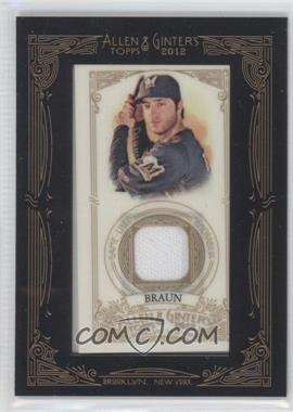 2012 Topps Allen & Ginter's Framed Mini Relics #AGR-RB - Ryan Braun
