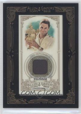 2012 Topps Allen & Ginter's Framed Mini Relics #AGR-RF - Roger Federer