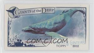 2012 Topps Allen & Ginter's Giants of the Deep Minis #GD-1 - Humpback Whale