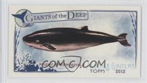 2012 Topps Allen & Ginter's Giants of the Deep Minis #GD-11 - [Missing]