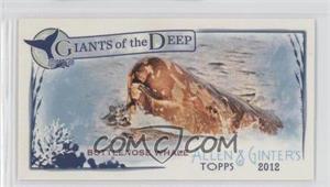2012 Topps Allen & Ginter's Giants of the Deep Minis #GD-14 - Bottlenose Whale