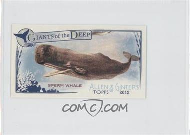 2012 Topps Allen & Ginter's Giants of the Deep Minis #GD-2 - [Missing]