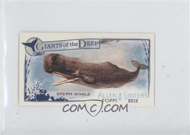 2012 Topps Allen & Ginter's Giants of the Deep Minis #GD-2 - Sperm Whale