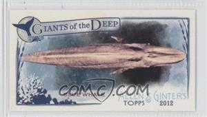 2012 Topps Allen & Ginter's Giants of the Deep Minis #GD-3 - Blue Whale