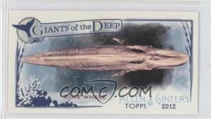2012 Topps Allen & Ginter's Giants of the Deep Minis #GD-3 - [Missing]