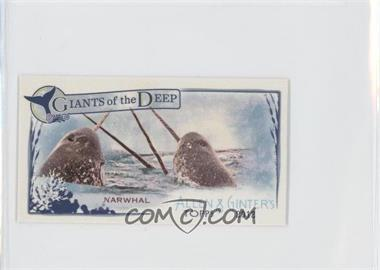 2012 Topps Allen & Ginter's Giants of the Deep Minis #GD-4 - Narwhal