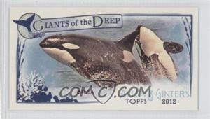 2012 Topps Allen & Ginter's Giants of the Deep Minis #GD-9 - Orca
