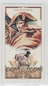 2012 Topps Allen & Ginter's Guys in Hats Minis #GH-10 - The Bicorne