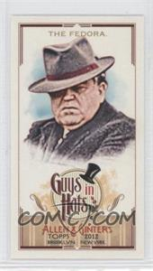 2012 Topps Allen & Ginter's Guys in Hats Minis #GH-3 - [Missing]