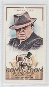 2012 Topps Allen & Ginter's Guys in Hats Minis #GH-3 - The Fedora